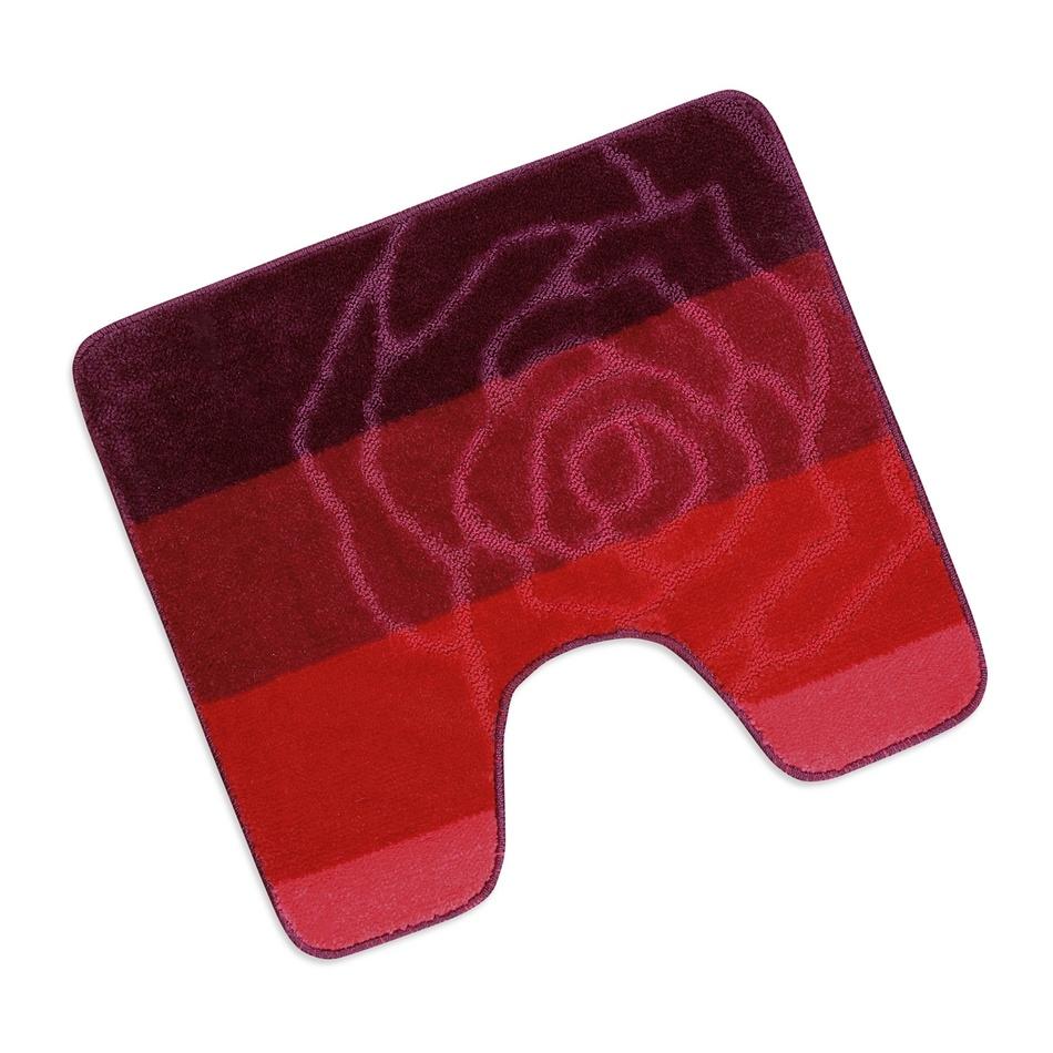 Bellatex Kúpeľňová predložka Elli Červená ruža WC, 60 x 50 cm