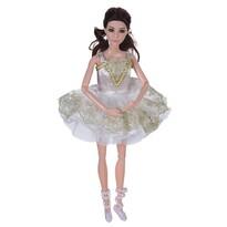Koopman Bábika Ballerina biela, 30 cm