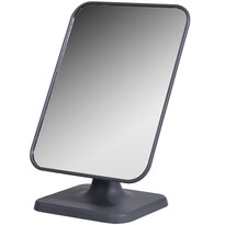 Kosmetické zrcadlo Compact Mirror šedá, 21,5 x 15 cm