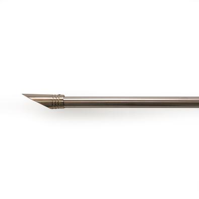 Roztažitelná garnýž ocel Elipsa, 200 - 340 cm