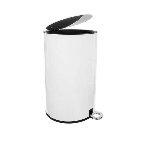 Coș de gunoi cu pedală Orion WHITE, 6 l