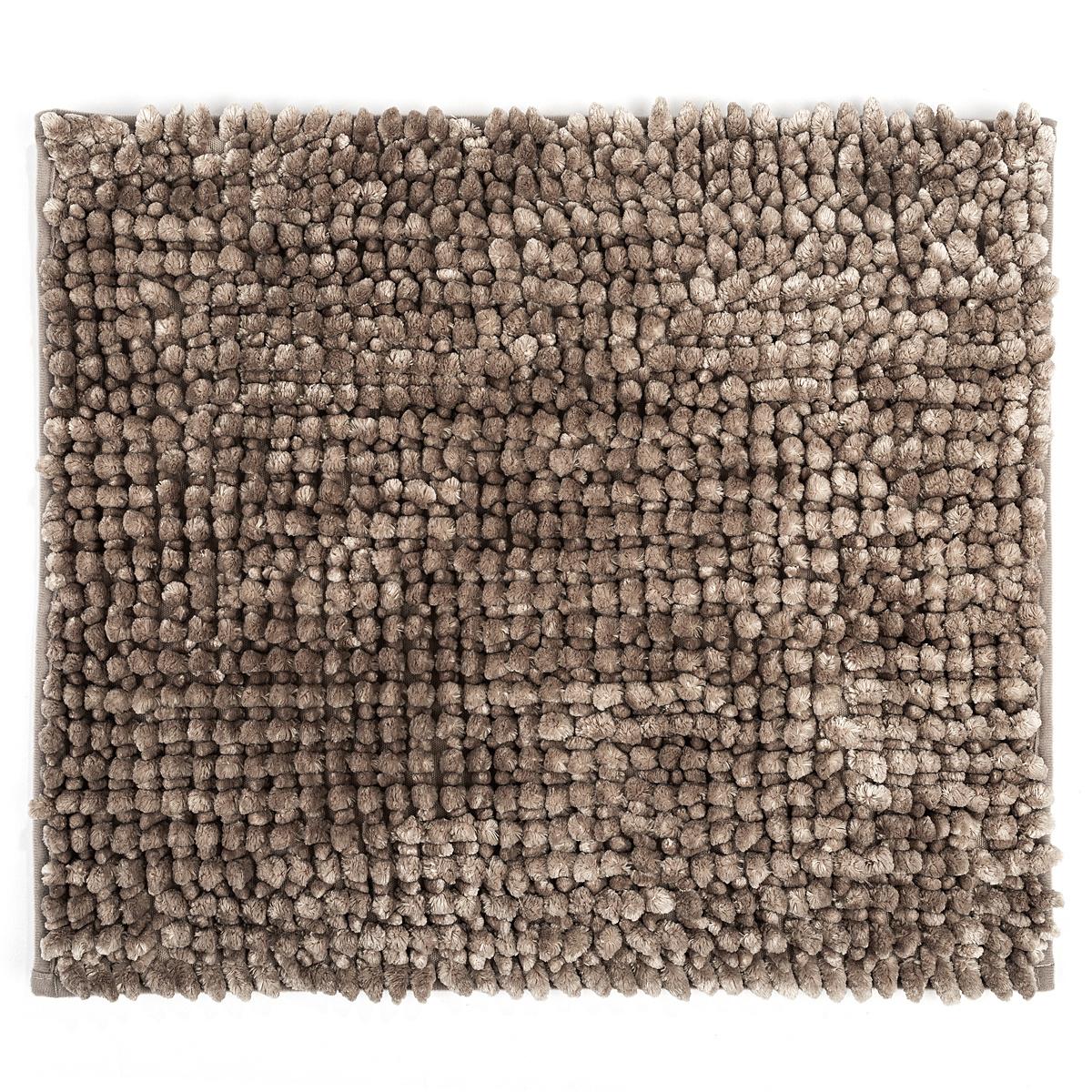 Bo-ma Koupelnová předložka Ella micro šedá, 40 x 50 cm