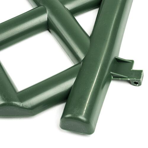 Kerti rácsos kerítés – zöld