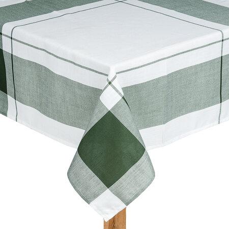 Ubrus kostka zelená, 140 x 180 cm