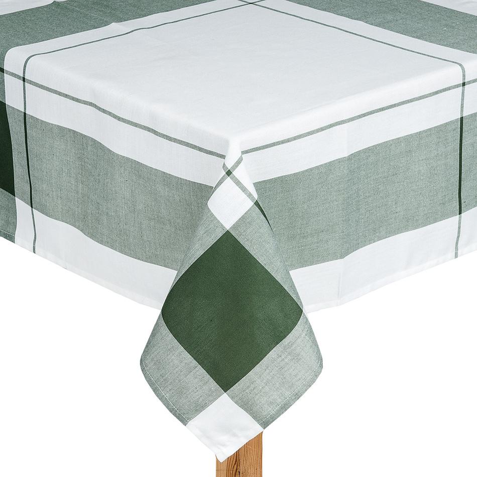 Forbyt Obrus kocka zelená, 140 x 180 cm, 140 x 180 cm
