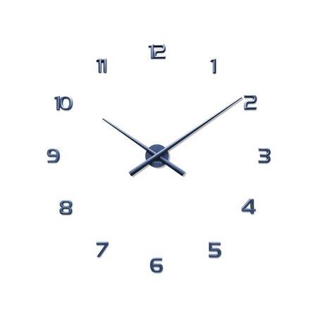 Lavvu LCT1172 Nalepovací hodiny 3D Sticker Blue Numerals, modrá