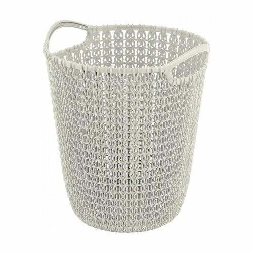 Curver Odpadkový kôš na papier Knit, 7 l, biela