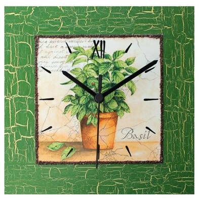 Nástěnné hodiny Bazalka