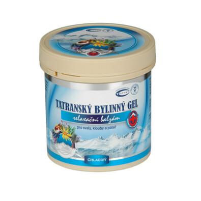 Topvet Tatranský bylinný gel chladivý, 250 ml