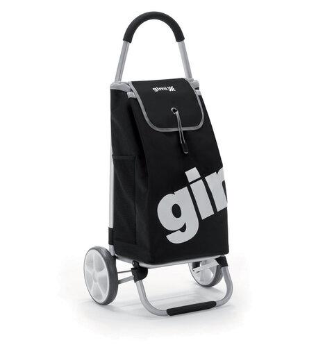 World Galax nákupní taška na kolečkách černá taška