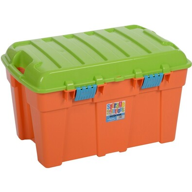 Wham Box s víkem 50 l oranžová