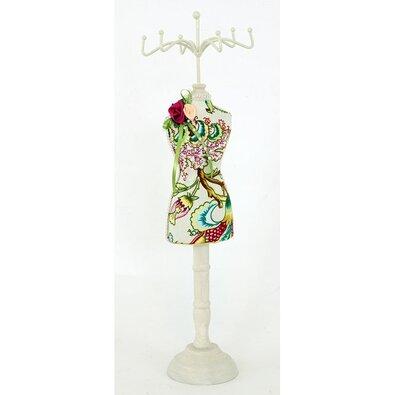 Stojánek na šperky Mannequin, bílá
