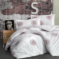 Lenjerie de pat, din flanelă, Kvalitex Huma, bej, 140 x 200 cm, 70 x 90 cm
