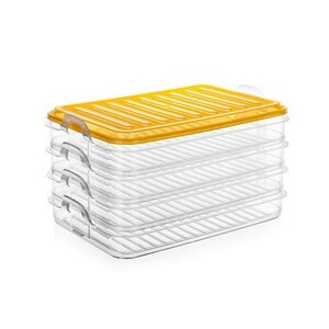 Banquet EASY CLICK 4dílná sada plastových dóz