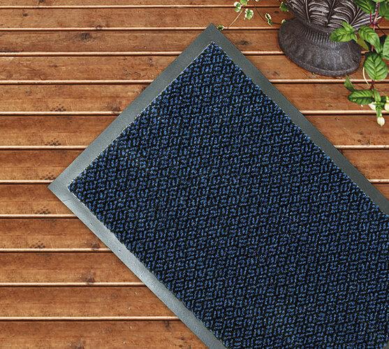 Venkovní rohožka modrá, 60 x 80 cm, 60 x 80 cm, 60 x 80 cm