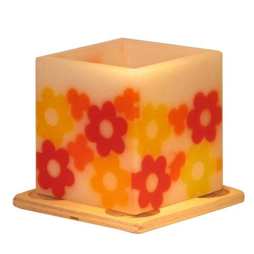 Vonný lampión na čajovú sviečku - jarná vanilka