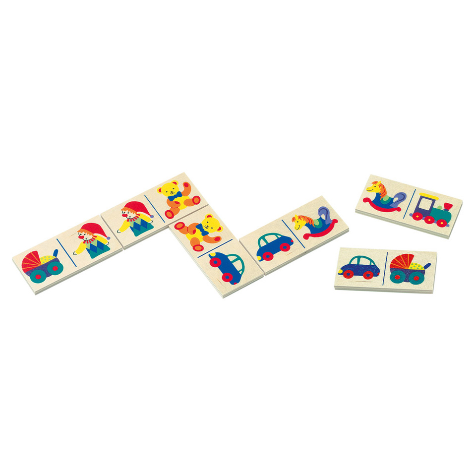 Bino Domino - hračky-v papír.kart.