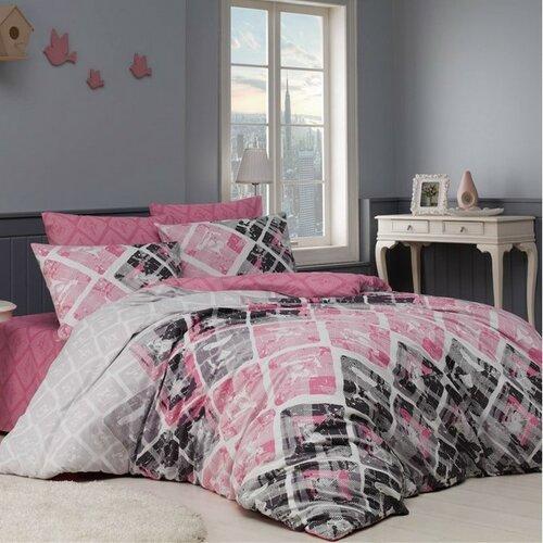 BedTex Bavlněné povlečení Riviéra růžová, 220 x 200 cm, 2 ks 70 x 90 cm
