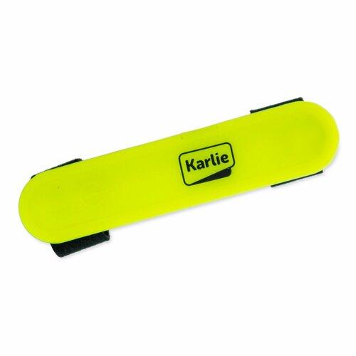 Karlie LED Světlo na obojek, vodítko, postrojs USB, žlutá