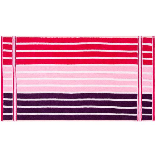 Sada Stripes Sweet ručník a osuška, 70 x 140 cm, 50 x 90 cm