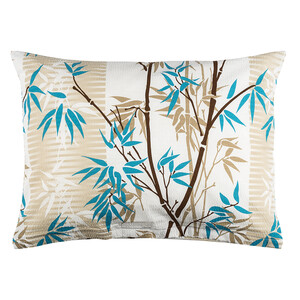 Povlak na polštářek krep deluxe Bamboo béžová, 45 x 60 cm