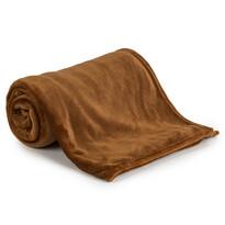 4Home deka Soft Dreams tmavě hnědá, 150 x 200 cm
