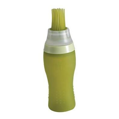 Bergner Lahvička mačkací na olej s mašlovačkou, zelená