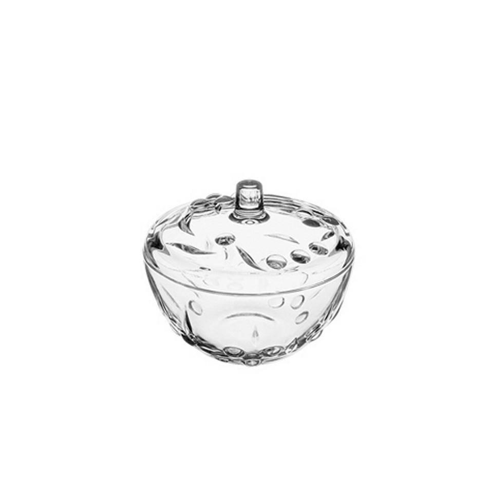 PERLA Sklenená cukornička 14 cm 64393