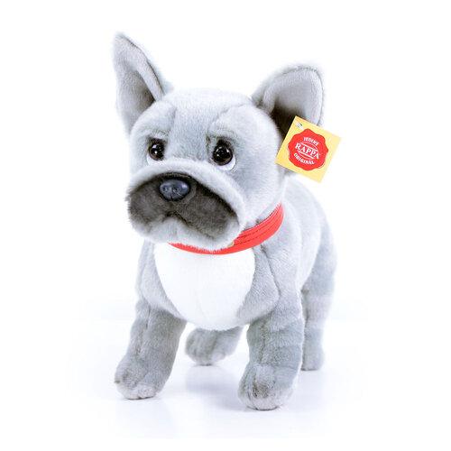 Rappa plüss francia bulldog hanggal, 30 cm