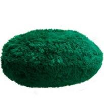 Pernă rotundă Domarex Queen, verde închis, 50 cm