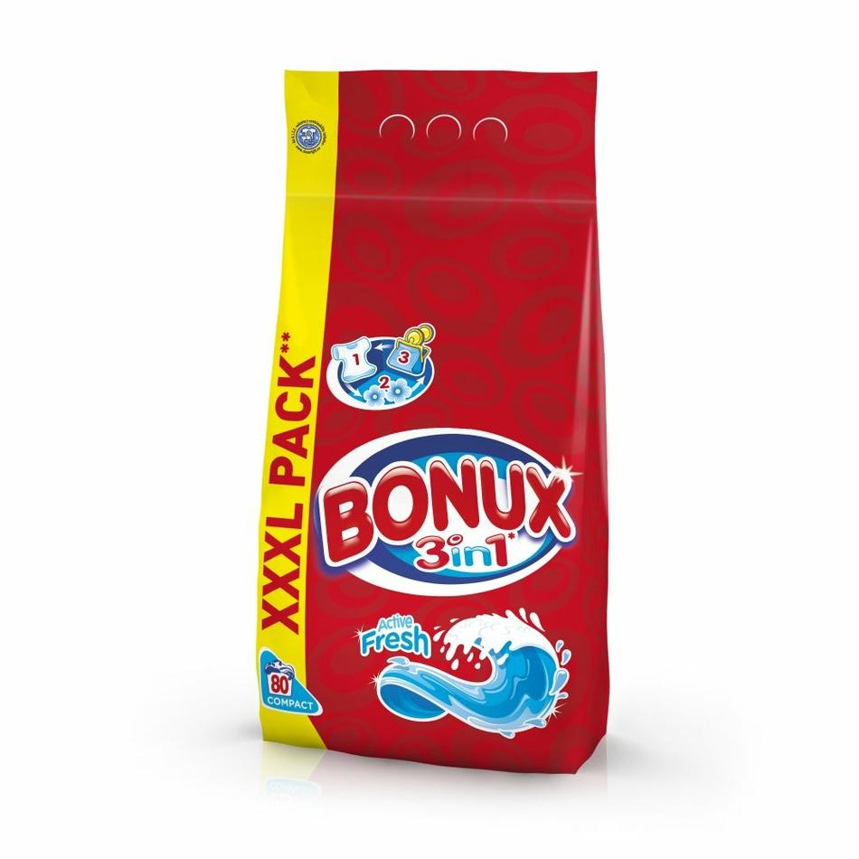 Bonux prací prášok Active Fresh 5,6 kg