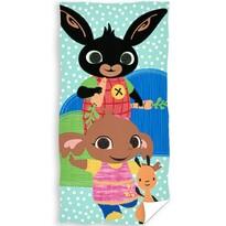 Dětský ručník Bing, Sula a Flop, 30 x 50 cm