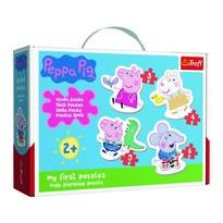 Trefl Baby puzzle Prasiatko Peppa, 4v1