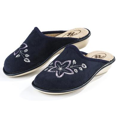 Santé LX Blue Biege dámské pantofle