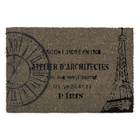 Párizs kókusz lábtörlő, 40 x 60 cm