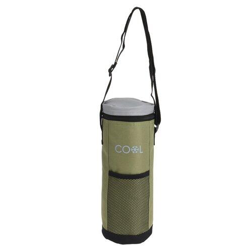 Palack hűtőtáska Cool lt zöld, 1,5 l