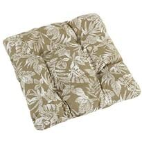 Sedák Dana prešívaný Lupene, 40 x 40 cm