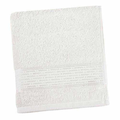 Osuška Kamilka proužek bílá, 70 x 140 cm