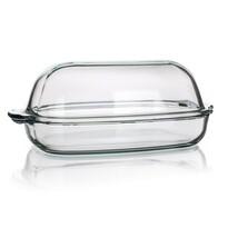 Formă de copt Simax din sticlă cu capac 8 l