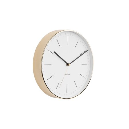 Karlsson 5695WH Designové nástěnné hodiny, 28 cm