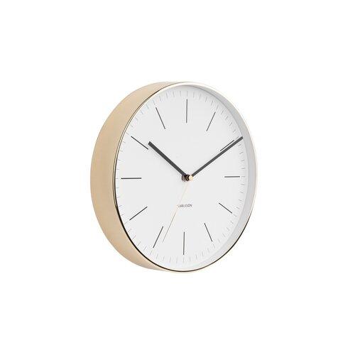 Karlsson 5695WH Designové nástenné hodiny, 28 cm