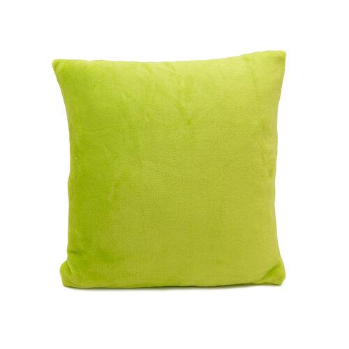 Pernă Micropluș New verde, 40 x 40 cm