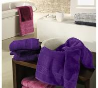 Cawö frottier ručník Noblesse fialový, 50 x 100 cm