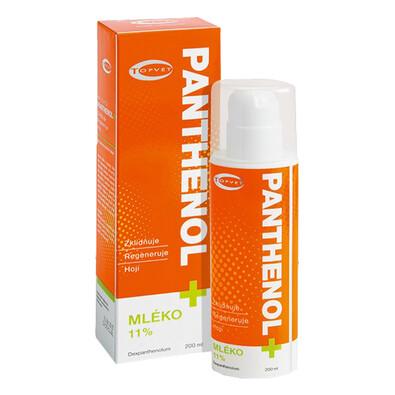 Panthenol  mléko 11%, Topvet, 200 ml