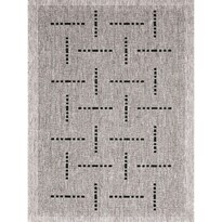 Kusový koberec Floorlux silver/black 20008, 160 x