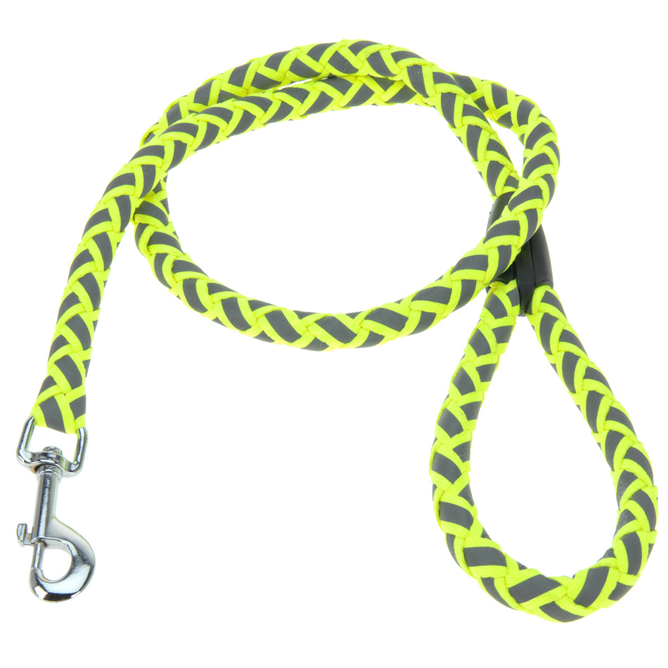 Vodítko pro psa Neon žlutá, vel. S