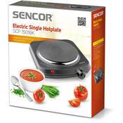 Sencor SCP 1501BK elektrický jednoplotýnkový  vařič, černá