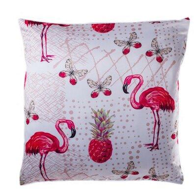 Povlak na polštářek Flamingo ananas, 40 x 40 cm