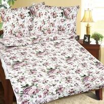 Bellatex Lenjerie de pat creponată Buchet, 140 x 200 cm, 70 x 90 cm