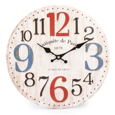 Nástěnné hodiny velké číslice